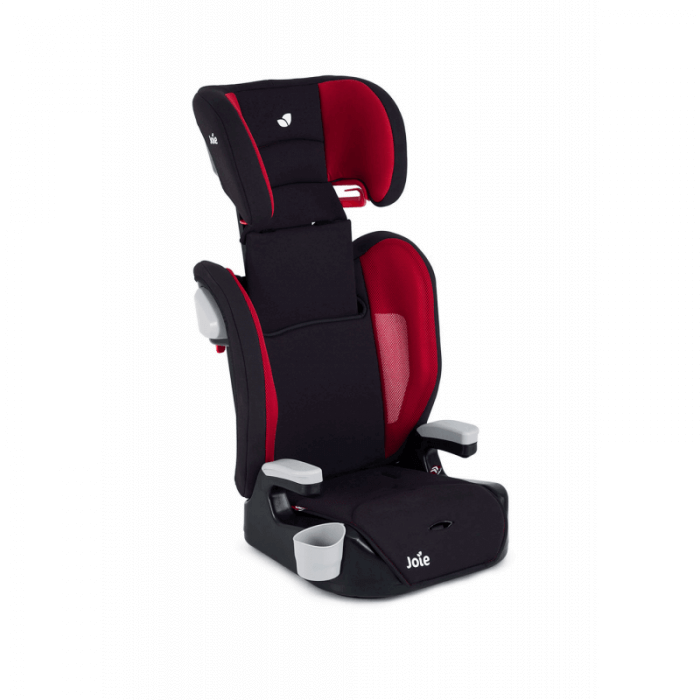 Joie Elevate Group 1/2/3 Car Seat - Cherry - Ext