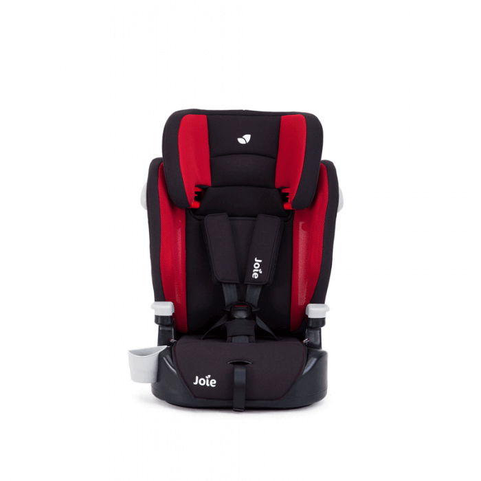 Joie Elevate Group 1/2/3 Car Seat - Cherry - Front
