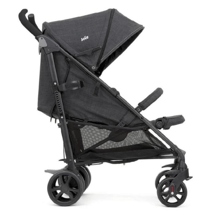 Joie Brisk LX Stroller - Pavement - Side Ext