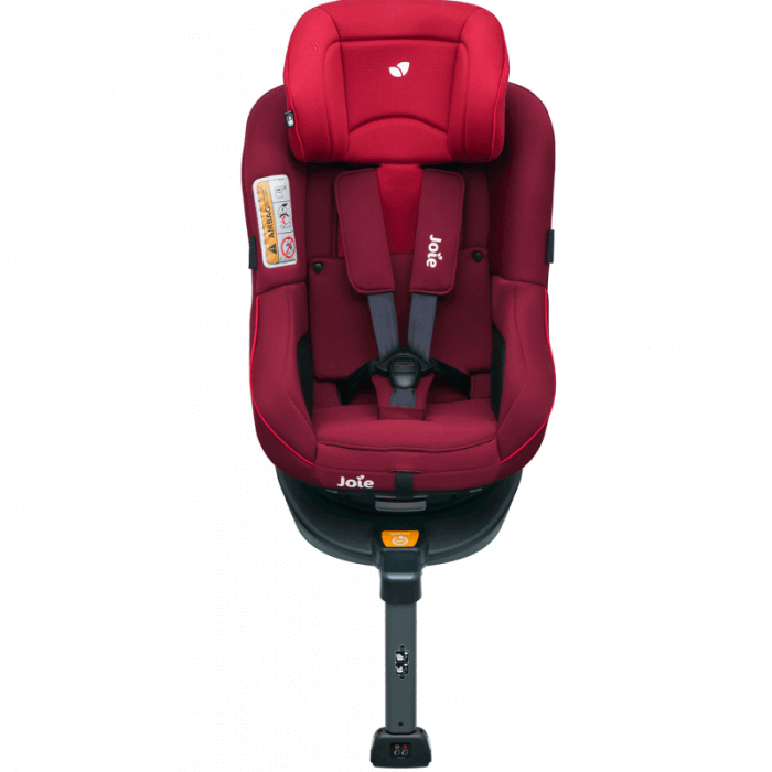 Joie Spin 360 Group 0+/1 Car Seat - Merlot - Front Ext