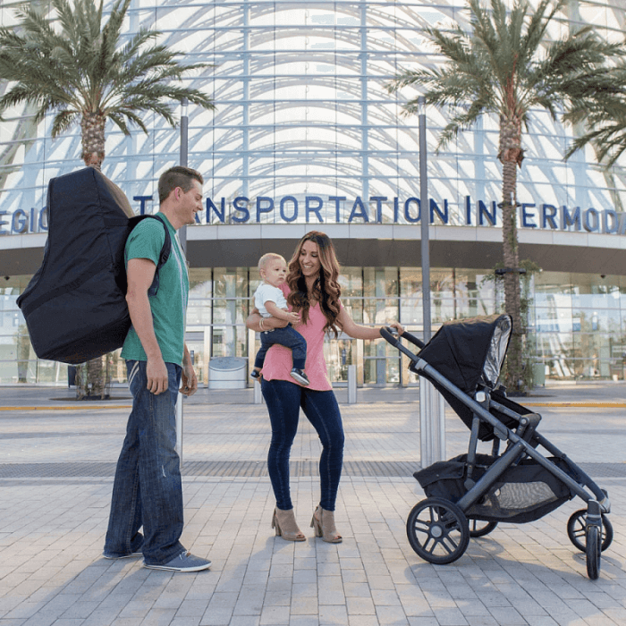 JL Childress Ultimate Car Seat Travel Bag - Lifestyle