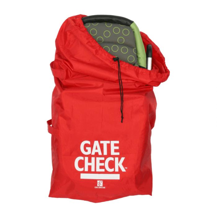 JL Childress Standard/Double Stroller Gate Check Bag - Front