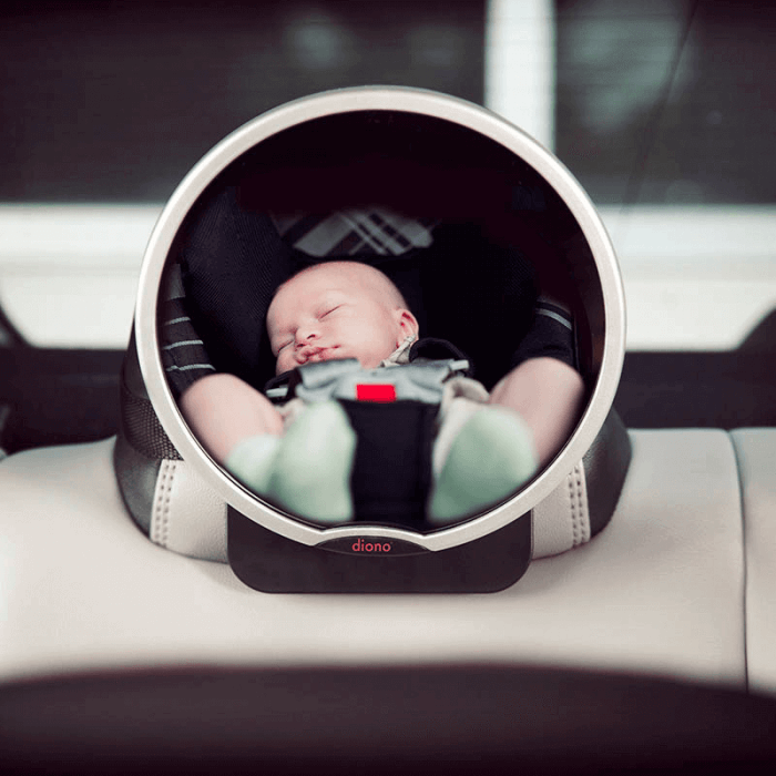 Diono Newborn Essentials Car Safety Accessory Pack - Mirror Lifestyle