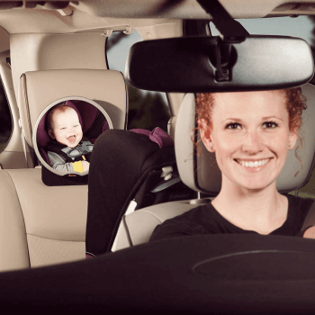 Diono Newborn Essentials Car Safety Accessory Pack - Mirror Lifestyle Alt