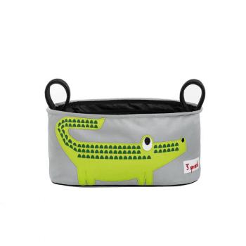 3 Sprouts Stroller Organiser - Crocodile