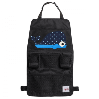 3 Sprouts Backseat Organiser - Whale