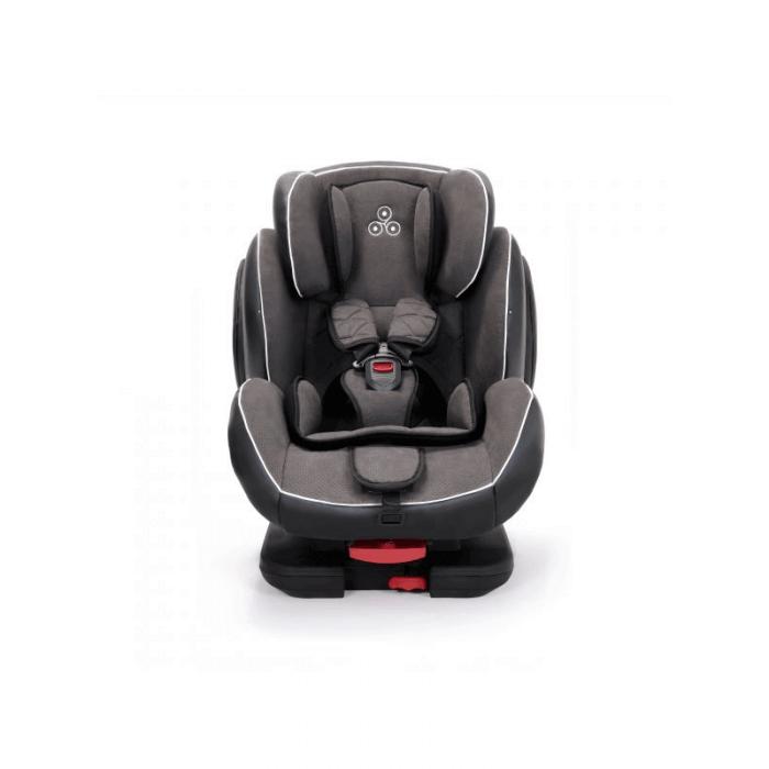 Ickle Bubba Solar Group 1/2/3 Car Seat - Dark Grey