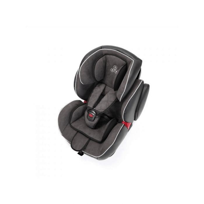 Ickle Bubba Solar Group 1/2/3 Car Seat - Dark Grey - Side 3