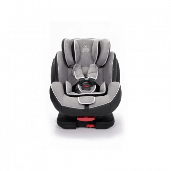 Ickle Bubba Solar Group 1/2/3 Car Seat - Light Grey