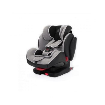 Ickle Bubba Solar Group 1/2/3 Car Seat - Light Grey - Side 2