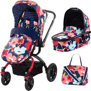 Cosatto Ooba 2-in-1 Travel System - Proper Poppy