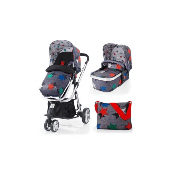Cosatto Giggle 2 2-in-1 Travel System - Grey Megastar