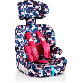 Cosatto Zoomi Group 1/2/3 Car Seat - Magic Unicorns Side