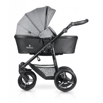 Venicci Shadow 3-in-1 Travel System - Denim Grey - Carrycot