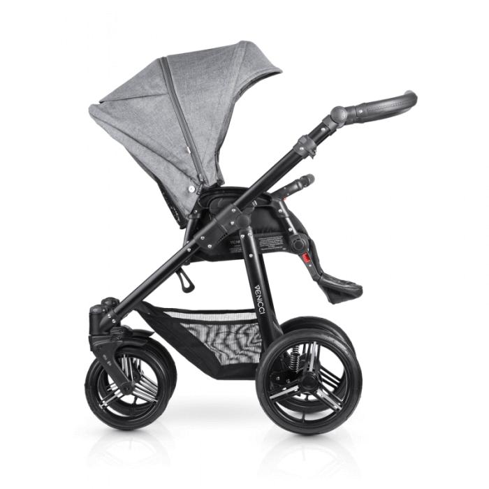 Venicci Shadow 3-in-1 Travel System - Denim Grey - Seat Unit