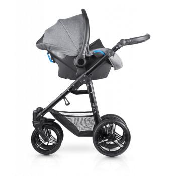 Venicci Shadow 3-in-1 Travel System - Denim Grey - Car Seat