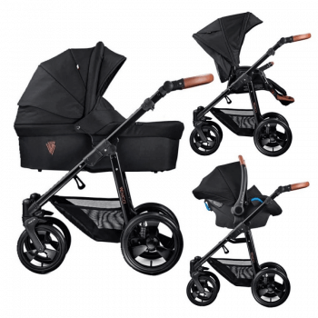 Venicci Gusto 3-in-1 Travel System - Black