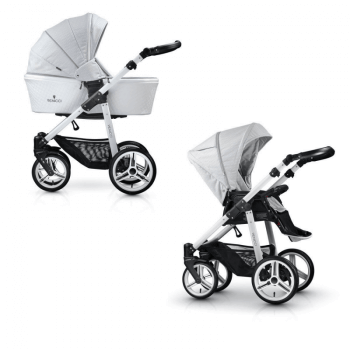 Venicci Pure 2-in-1 Travel System - Stone Grey