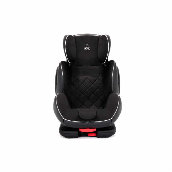 Ickle Bubba Solar Group 1/2/3 Car Seat - Black - Front 2