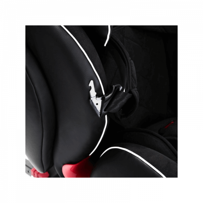 Ickle Bubba Solar Group 1/2/3 Car Seat - Black - Buckle