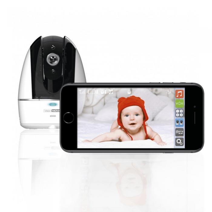 VisionNova 8 Wi-Fi Connect Baby Monitor Camera