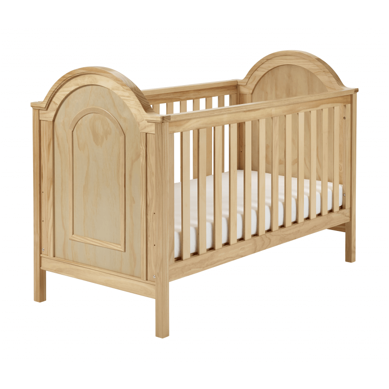 Compare retail prices of Babymore Albert Cot Bed - Natural to get the best deal online