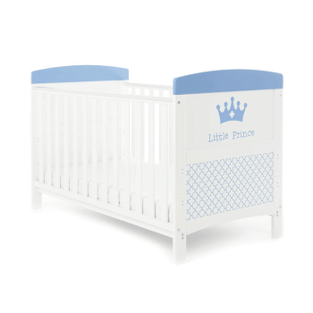 Obaby Grace Inspire Cot Bed & Mattress - Little Prince