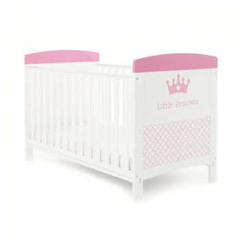 Obaby Grace Inspire Cot Bed & Mattress - Little Princess