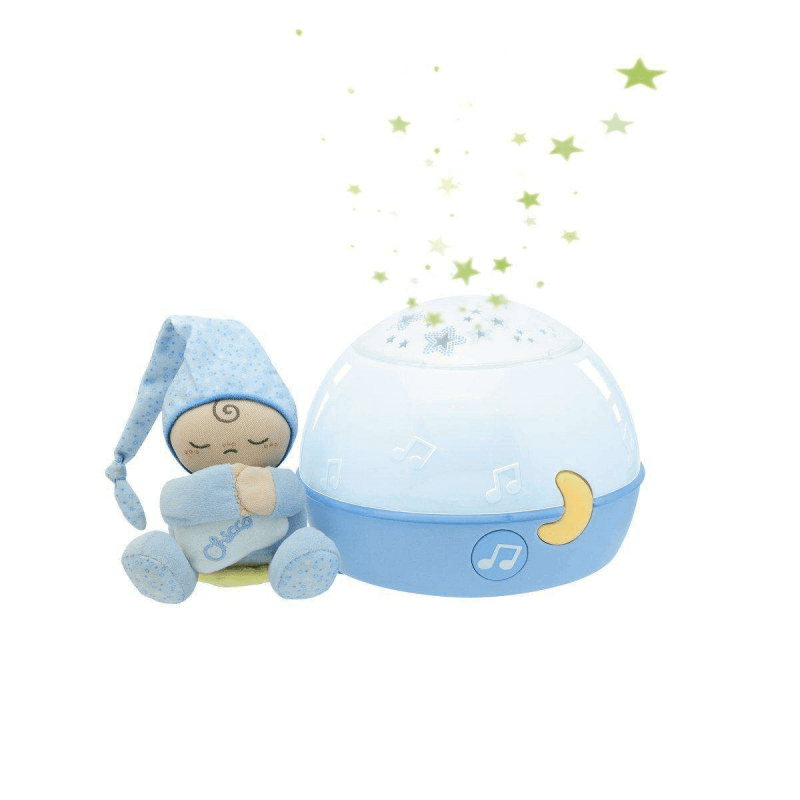 Chicco Goodnight Stars Baby Night Light Projector Blue
