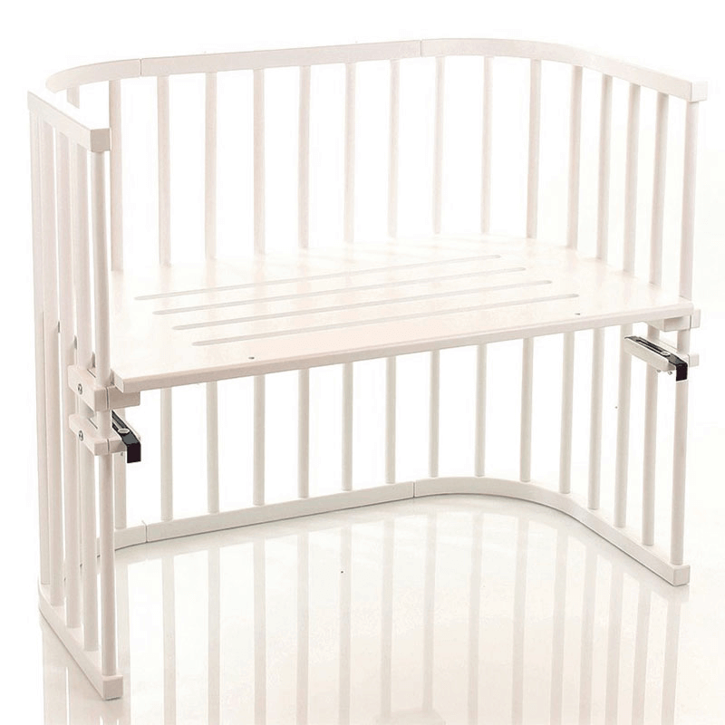 Compare retail prices of Babybay Maxi Bedside Cot - White to get the best deal online