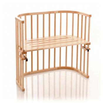 Babybay Convertible Bedside Cot - Beech