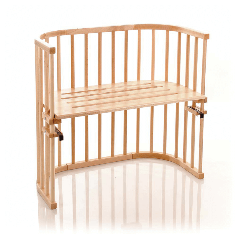 Compare retail prices of Babybay Convertible Bedside Cot - Beech to get the best deal online