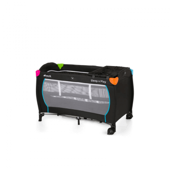 Hauck Sleep 'n Play Center Travel Bed - Multicolour Black