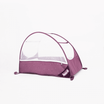 Koo-di Bubble Pop-Up Travel Cot - Gum Drop - Side