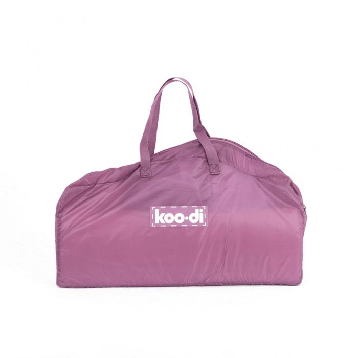 Koo-di Bubble Pop-Up Travel Cot - Gum Drop - Bag
