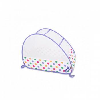 Koo-di Bubble Pop-Up Travel Cot - Pastel Polka