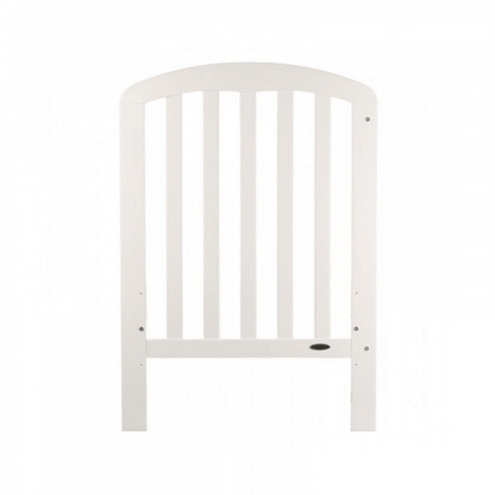 Obaby Lily Cot - White - Front