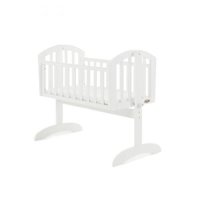 Obaby Sophie Swinging Crib - White