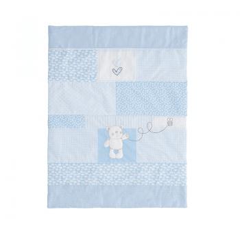 Obaby B Is For Bear Moses Basket - Blue - Blanket
