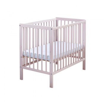 East Coast Carolina Space-Saving Cot & Mattress - Pink