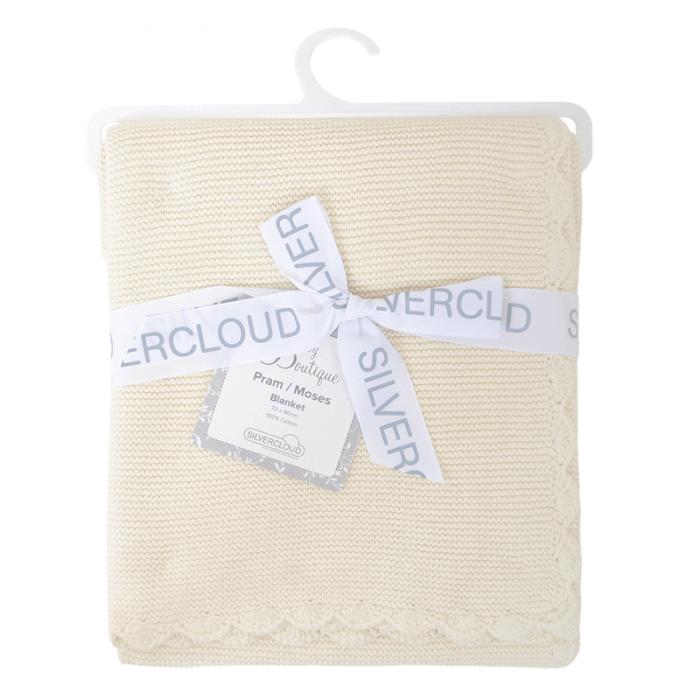 East Coast Knitted Blanket - Cream