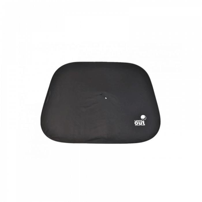 LightsOut XL Portable Pop-Up Blackout Blind - Front