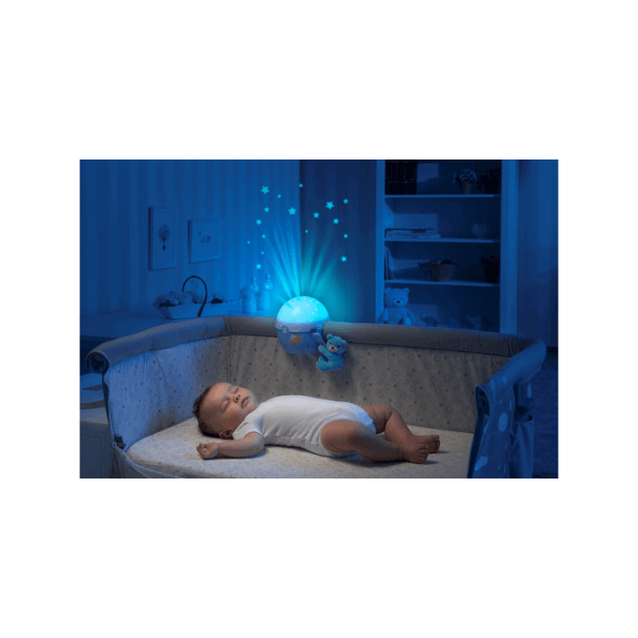 Chicco Next2Stars Baby Night Light Projector - Blue - Lifestyle