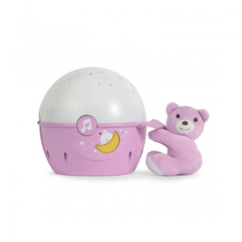 Chicco Next2Stars Baby Night Light Projector - Pink