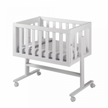 Lapsi Cododo Co-Sleeping Crib - White