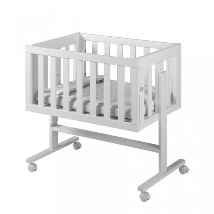 Lapsi Cododo Co-Sleeping Crib - White