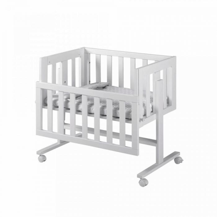 Lapsi Cododo Co-Sleeping Crib - White - Front