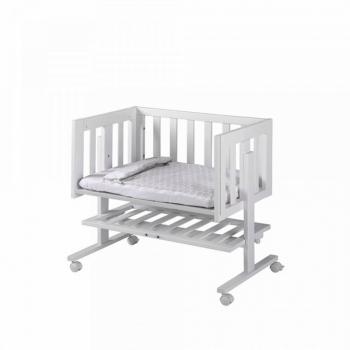 Lapsi Cododo Co-Sleeping Crib - White - Front Alt