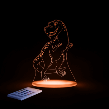 Aloka SleepyLights Nursery Night Light - T-Rex - Orange