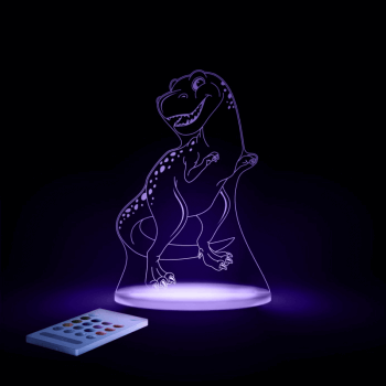 Aloka SleepyLights Nursery Night Light - T-Rex - Purple